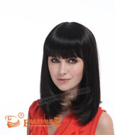 Lady's long straight wig,hair product supplier YS-9082
