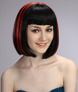 Wholesale cheap synthetic red hair wigs YS-6020