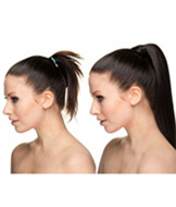 Synthetic Wrap ponytails hair pieces with comb  YS-8138