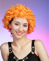 synthetic football fans wigs for 2014 world cup 165