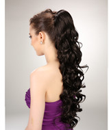 Synthetic natural color ponytail hairpieces YS-8173