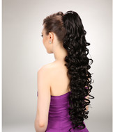 synthetic hair deep wave ponytail hairpieces YS-8175